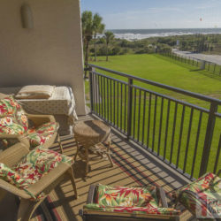 St. Augustine Beach Vacation Rental Anastasia Condo 304 Balcony