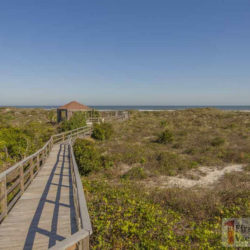Villas of Ocean Gate Condo Rental St. Augustine Dec 2015 Beach Walkway